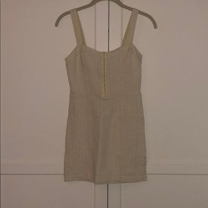 Yellow check Bustier Dress by Free People